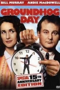 Groundhog Day, Training, Bill Murray and Doing the Same Thing All the Time
