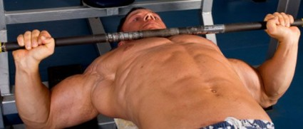 ... To Bench Press With Your Elbow Out At A 90 Degree Angle. Proper Bench  Press Form ...