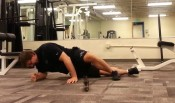 barbell rolling