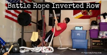 You Should Do This: Battle Rope Row