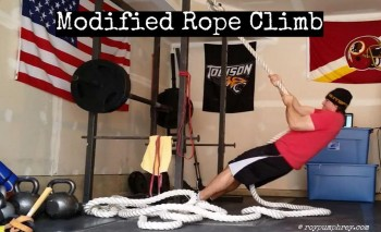 You Should Do This: Modified Rope Climb