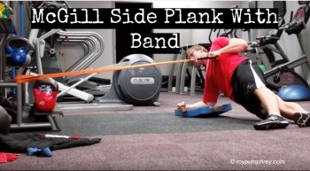 You Should Do This: McGill Side Plank With Band