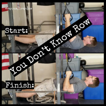 You Should Do This: TRX Row