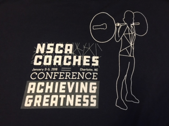 It Was a Cold one In Charlotte: 2018 NSCA Coaches Conference