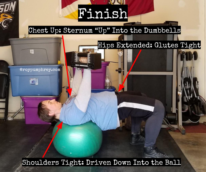 Stability Ball Instead Of Bench: You Should Do This: Stability Ball Dumbbell Bench Press